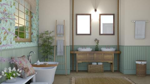 shabby bathroom - Bathroom - by rasty