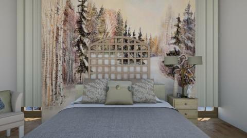 Bedroom l Homely - Rustic - Bedroom - by Jhiinyat