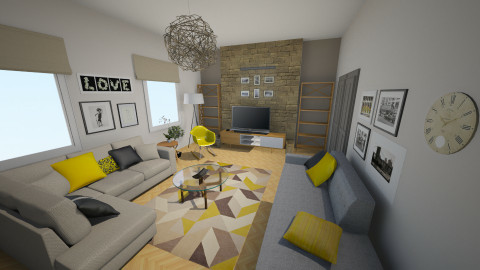 future living room_new2 - Eclectic - Living room - by Andrea_