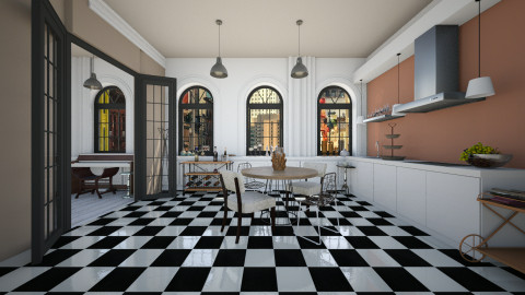 Simple - Eclectic - Kitchen - by Laurika