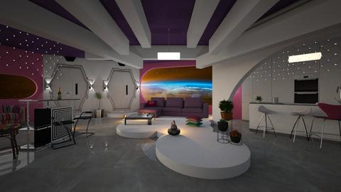 Futuristic style - by ZsuzsannaCs