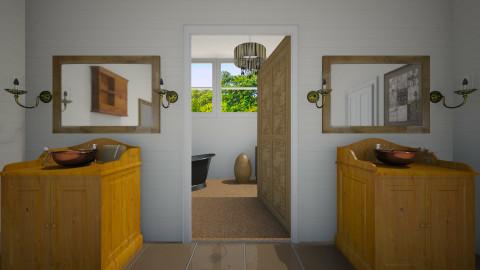 Ranch Bath - Country - Bathroom - by sissybee