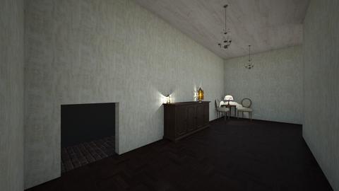 Creepy Hallway - by Sarah Anjuli Gailey