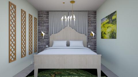 room - Eclectic - Bedroom - by yosef