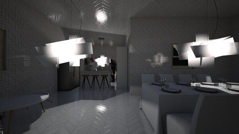 Mix of Modern - Modern - Kitchen - by zaryah