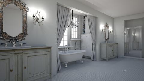 SCB - Bathroom - by rickglassinteriors