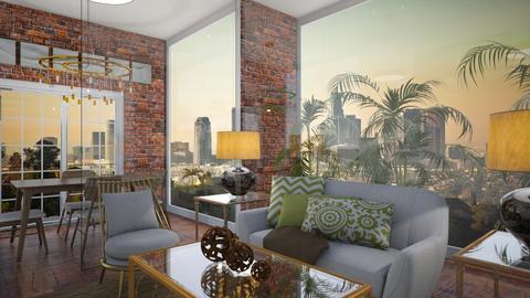 Glass Flat - Modern - Living room - by Bekah Lynn