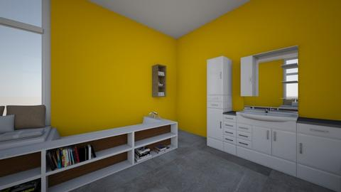 yellow 1 - Bathroom - by elenbartlett