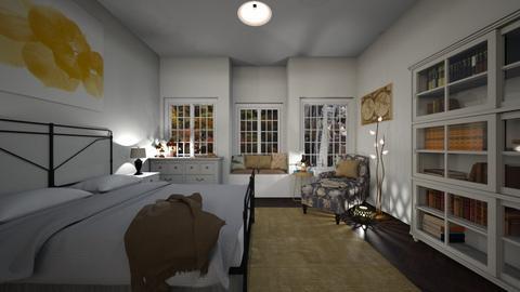 Fall bedroom - Bedroom - by SofiaMa