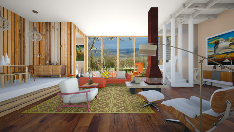Aalto Homes - Modern - Living room - by janip