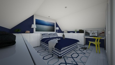 Tiny Teen Retreat - Eclectic - Bedroom - by Theadora