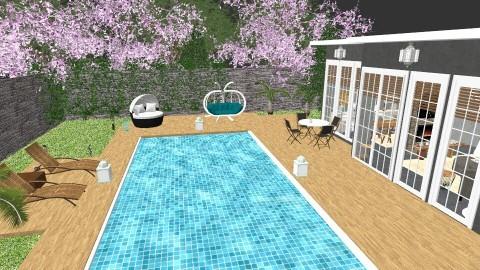 Garden Top view - Living room - by mayssa ltf