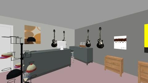 PugetSoundsLayout - Vintage - Office - by guitartester