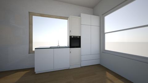 kitchen - by pollezinka