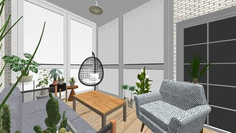new house - by laura krecinova