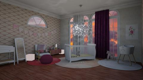 Pink  - Kids room - by Jade Blt