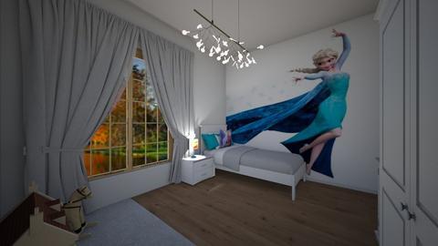 Frozen - Kids room - by Denisa250