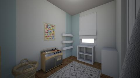 Nicole playroom 3 - Kids room - by erlichroni