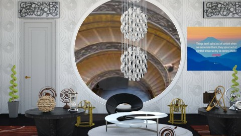 Spiraling Out Of Control - Modern - Office - by InteriorDesigner111