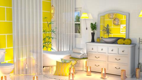 Feeling Yellow - Bathroom - by JoyG23