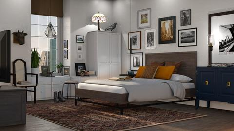 Eclectic Bedroom - Bedroom - by GraceKathryn