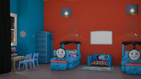 thomas room - Kids room - by RaeCam