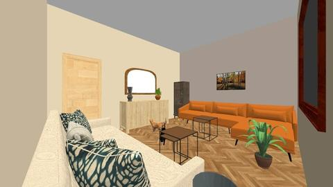starovicky2 - Retro - Living room - by elliis
