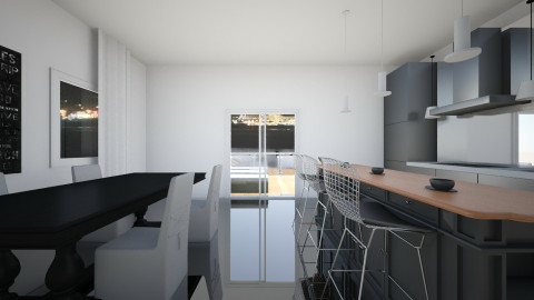 leah's kitchen - Modern - Kitchen - by Oswin