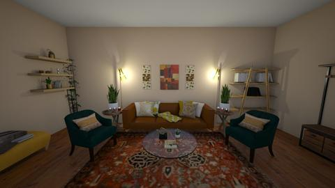 Boho Living Room - Classic - Living room - by elizabethwatt16