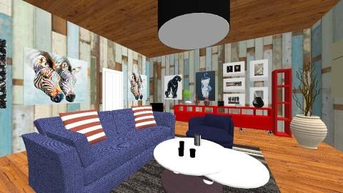 LROOM - Modern - Living room - by TARA T