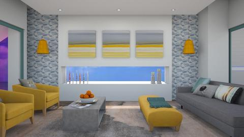 Home by the sea m - Modern - Living room - by augustmoon