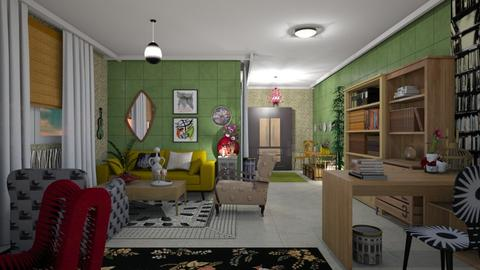 Outside the box - Eclectic - Living room - by The quiet designer