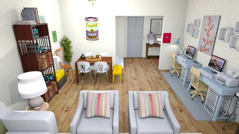 Multifunctional Living - Eclectic - Living room - by fashionistafalida