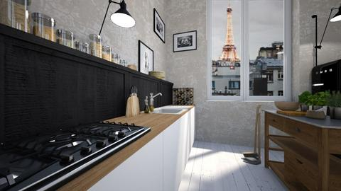 Paris - Eclectic - Kitchen - by amandafern