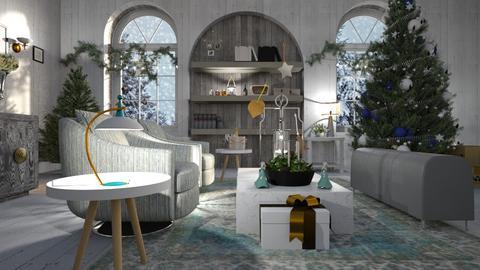 Christmas_Stars - Living room - by ZuzanaDesign