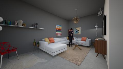 modern living room  - Modern - Living room - by tiana24