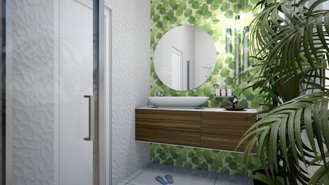 Urban jungle bathroom - Eclectic - Bathroom - by agnesdualko