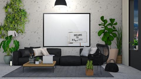 urban jungle - Living room - by stef_eck