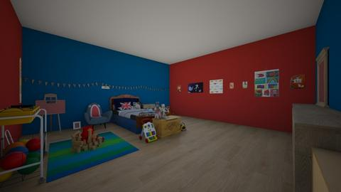 Maxs Room - Kids room - by Little Miss Designer 198