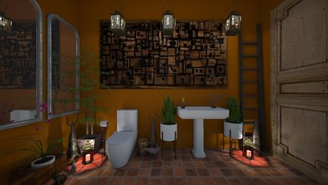 guest bathroom 9 - Bathroom - by GeGe Kanthip