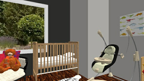 Cute baby room - Country - Kids room - by matea1999