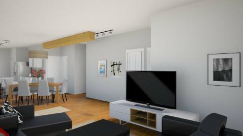 Notre maison 20157 - Modern - Kitchen - by Yellow Moon Design