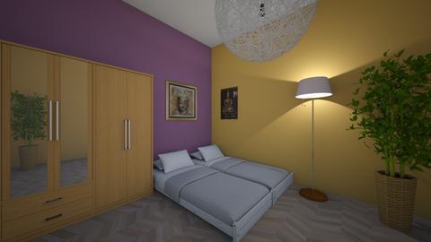 A - Classic - Bedroom - by Twerka