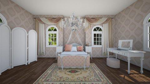 Royal Bedroom - Bedroom - by lucymorgan