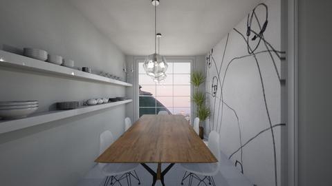 Casa177DiningRoom - Classic - Dining room - by nickynunes