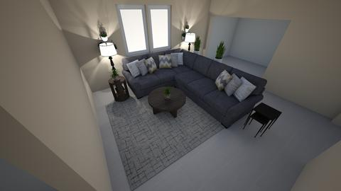 Living Space for Marilyn - Living room - by TheDutchDesigner