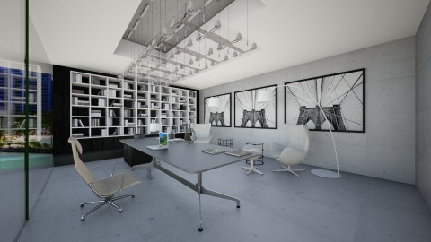 Home Office Xadrez - Classic - Office - by Talles Paganotti