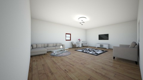 warm and modern room - Modern - Living room - by ashley is lit