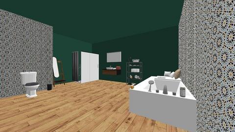 MCM bathroom - Modern - Bathroom - by SueandEs