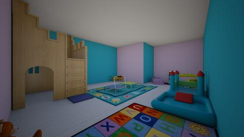 toddler playroom3 - Kids room - by eaidesE